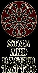 Stag & Dagger Tattoo